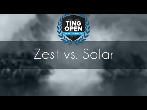Zest vs. Solar - PvZ - TING Season 3 KR Group#1