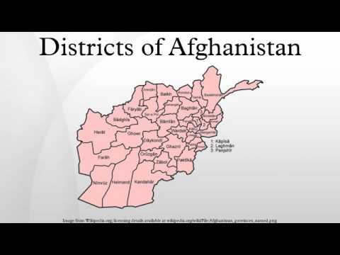 Districts of Afghanistan