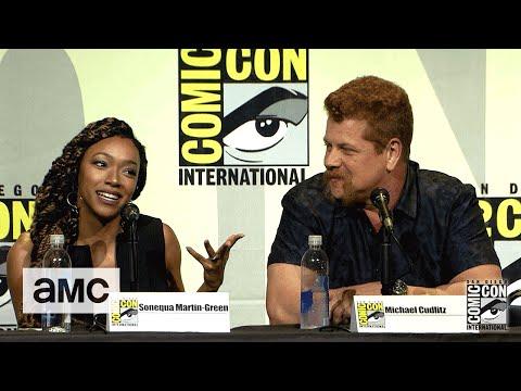 The Walking Dead: Season 7 ComicCon Panel Highlights: Sonequa MartinGreen's Breast Milk Story