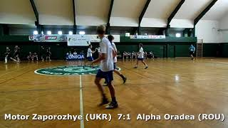Handball. U17 boys. Sarius cup 2017. CS Alpha Oradea (ROU) - GK Motor (UKR) - 4:17 (1st half)
