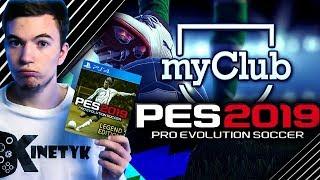 ???? Tworzymy P O T Ę Ż N Y klub w trybie MY CLUB! | PES 2019 - Na żywo