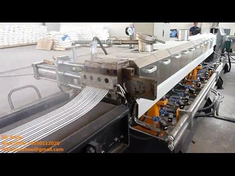Extrusion Technology PE PP+CACO3 Extruder Calcium Carbonate Extruder Design Kerke Extruder