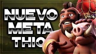 El ATAQUE de MODA que ESTÁ PARTIENDO TH10 | Arrojapiedras + QW Hogs = 3 Estrellas | Zoloko