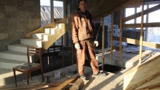 Бетонная винтовая лестница своими руками (снятие опалубки)(Конечный результат изготовления монолитной бетонной винтовой лестницы. Угол поворота более 90 градусов...., 2016-02-28T17:37:20.000Z)