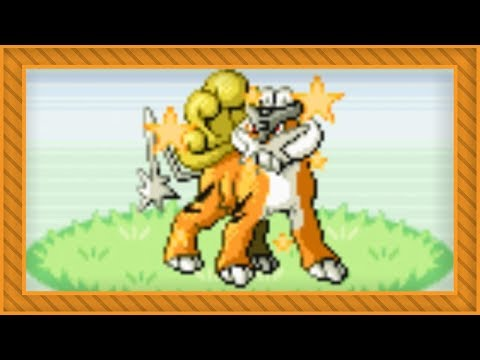 [LIVE] Shiny Roaming Raikou after 1,313 SRs in FireRed