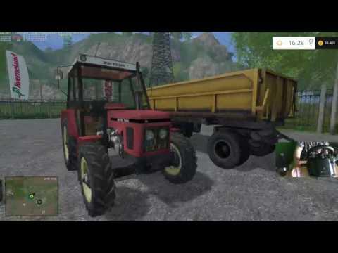 Farming Simulator15 Dary kavkazu# 14 Plechova kavaleria utoči! SK Live Play[720p 60fps]
