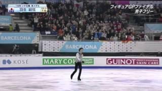 This video is on Yuzuru Hanyu GPF 2014 FS.