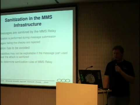 23C3: Advanced Attacks Against PocketPC Phones