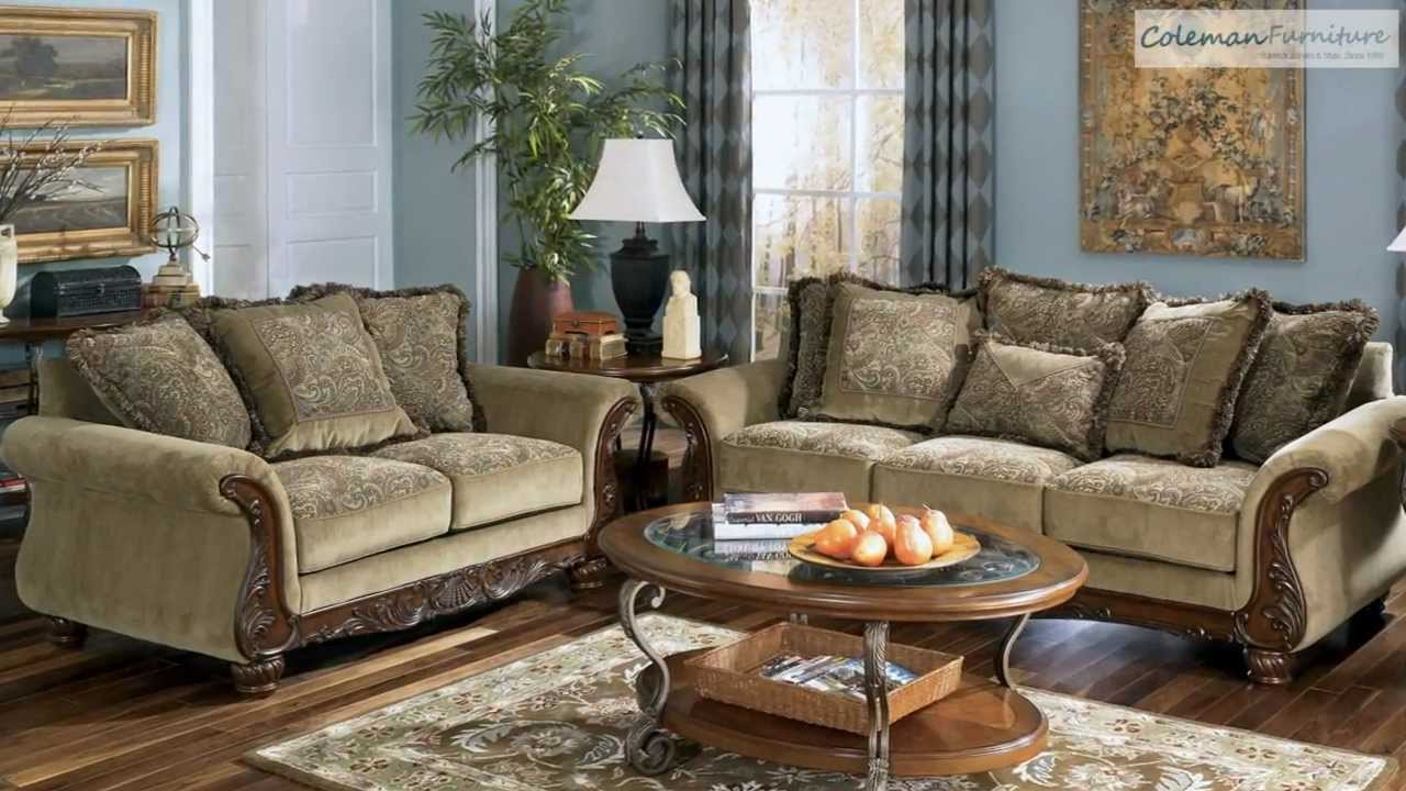 Millington Meadow Living Room Collection From Signature Design By