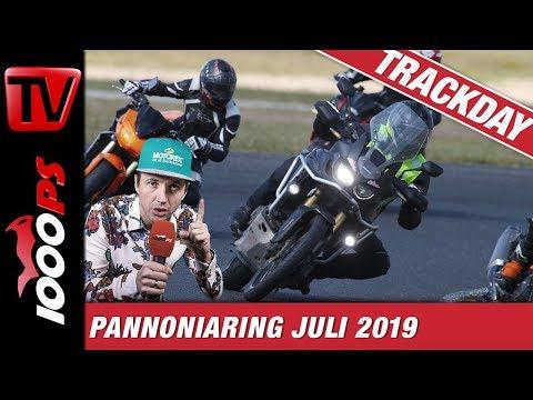 Mit der Reiseenduro auf die Rennstrecke - 1000PS Bridgestone Trackdays Juli 2019