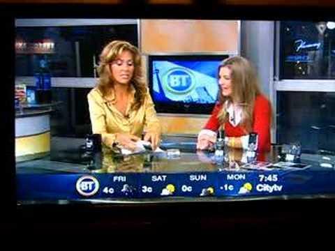 Motorola KRZR on Breakfast Television