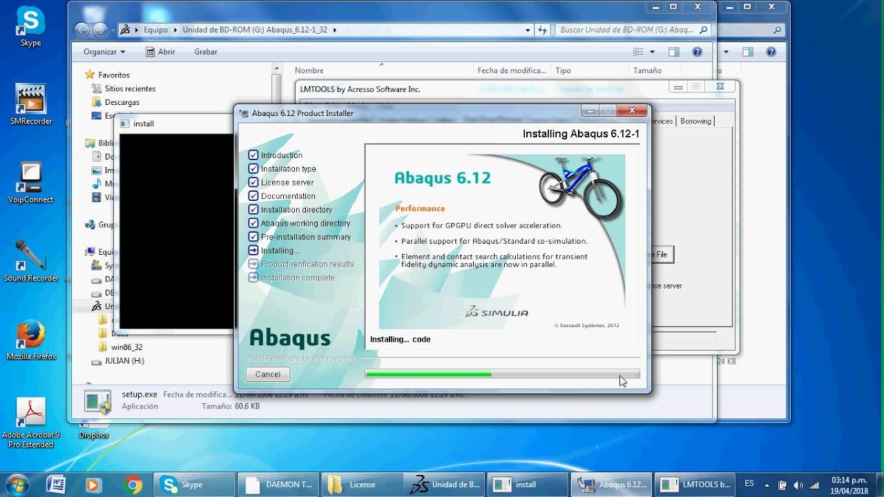 abaqus 6.12 gratuit