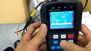 how to set analog for PTZ camera