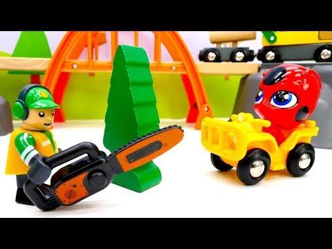 Tolle Brio Toys - Spielzeug Aus Holz - Tikki Und Plagg Packen Spielsachen Aus