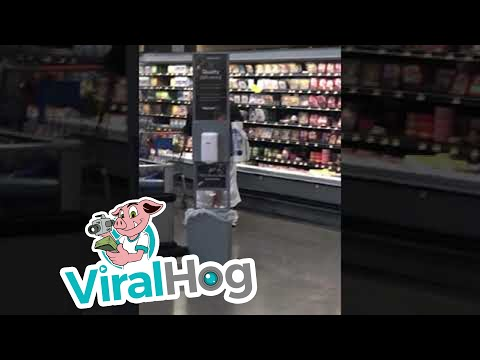 C-Rob Blog (58472) - Twerking In The Grocery Store