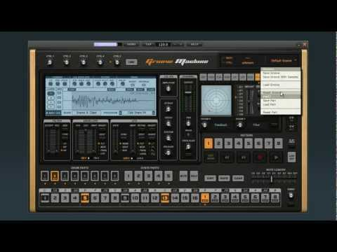Groove Machine Series | Step Sequencing Drums