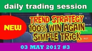 Binary Options Strategy 2017 6 Minutes IQ Option Trading 100% WINS - Best Tricks