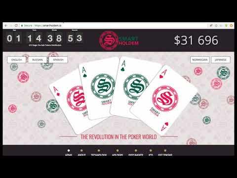 SmartHoldem ICO — краудсейл игровой платформы Poker-Room на базе BlockChain
