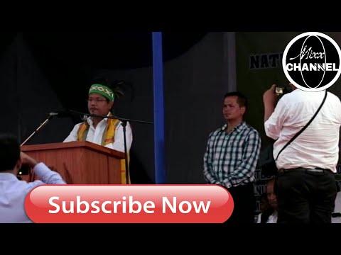 New Chief Minister of Meghalaya Conrad K Sangma Speech in Tura MP Stadium (24/3/2018)