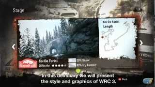 WRC 3 - FIA World Rally Championship 2012 - Developer Diary: Art
