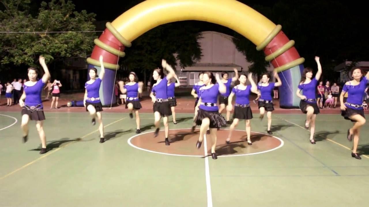 早覺運動舞蹈協會-忘情森巴舞 - YouTube