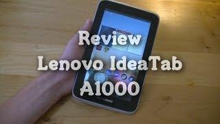 Review: Lenovo IdeaTab A1000
