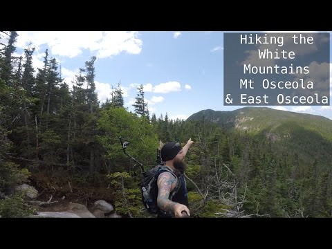 Hiking the White Mountains | Mt Osceola and East Osceola | NH 4K