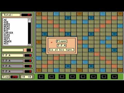 AMIGA SCRABBLE 2 SCRAMBLE 2 SCRABLE 2 BY TELEKINETIC TFA 237DMS Software  2000 Volume 1 SET 2 CD 2