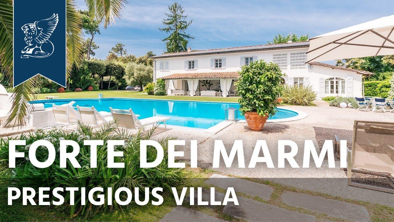 Prestigious Villa For Sale Near Forte Dei Marmi | Ref 5252 | Tuscany, Italy