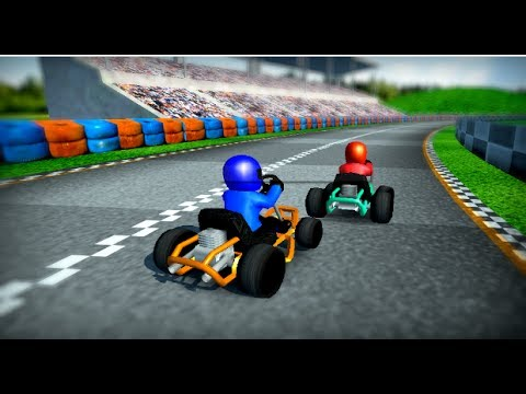 rush kart racing 3d cartoon games for kids video free car games to play now