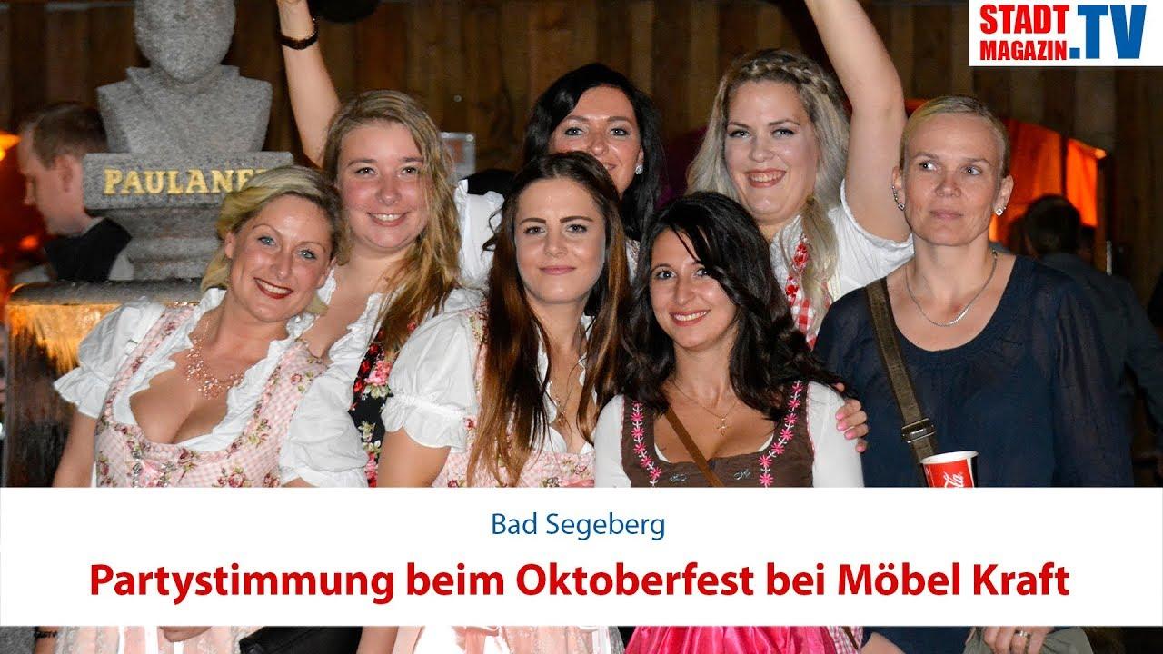 Partystimmung Beim Oktoberfest Bei Möbel Kraft Youtube