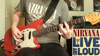 Nirvana - Radio Friendly Unit Shifter Live And Loud (Guitar Cover)