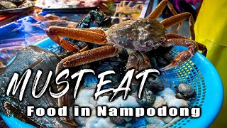 Must Eat Food in BUSAN | Nampodong