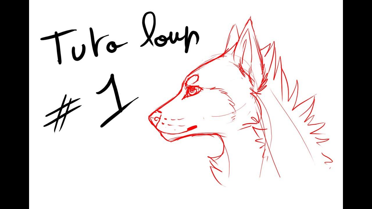 Tutoriel dessin loup - Comment dessiner un cerf ...