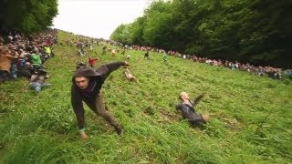 Gloucester Cheese Rolling 2012 OFFICIAL - World