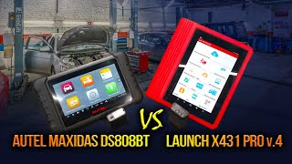 Autel MaxiDas DS808BT VS Launch X431 PRO v.4 большой обзор