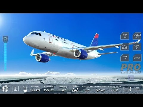 Pro Flight Simulator NY Free (by Pro Simulators Online) Android Gameplay HD