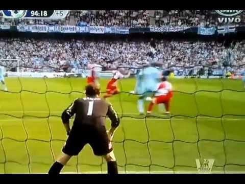 Gol Agüero Manchester City Campeon