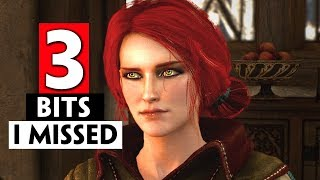 3 Triss Romance Related Bits I Missed in the Witcher 3