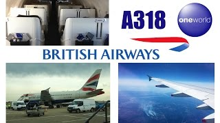 British Airways Business Class Airbus A318 London City to New York JFK FULL FLIGHT