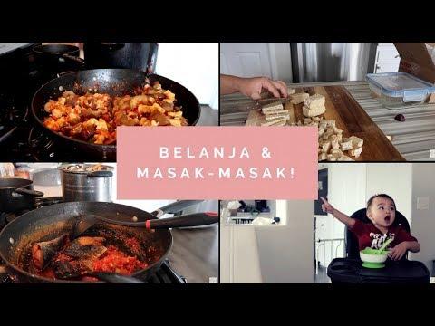 Vlog #183 | MASAK TEMPE TERONG BALADO, PERDANA BOBO DI KAMAR ETHAN