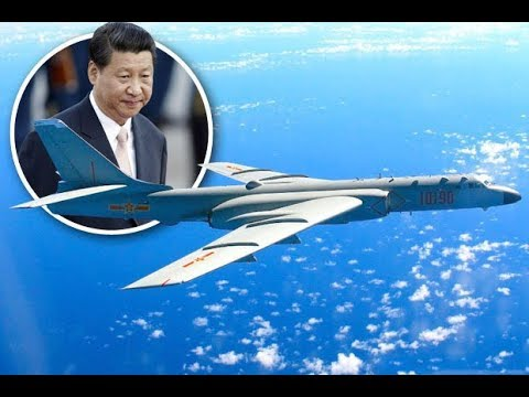 Chinese bombers and spy planes flying over US military bases INTERCEPTED by fighters jets