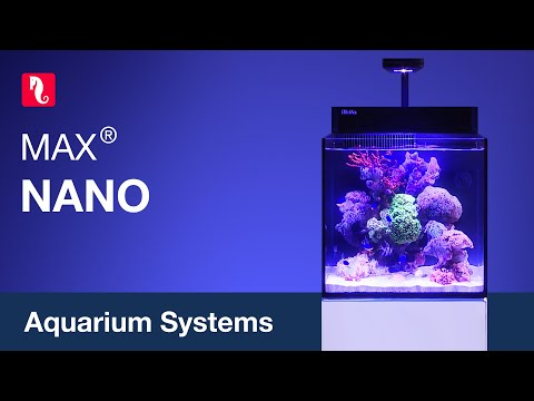 Red Sea MAX NANO - Fully featured 75 liter/20 gal, Plug & Play reef system