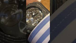 Bulgari: thinnest automatic tourbillon in world in carbon case