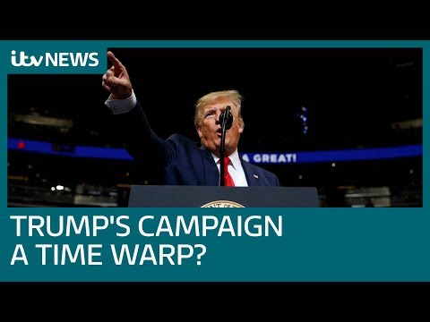 Why Trump's 2020 presidential campaign launch was like a time warp | ITV News
