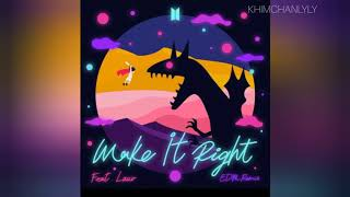 "Gambar cover BTS​ (방탄소년단)​ "" Make It Right ft. Lauv EDM Remix."
