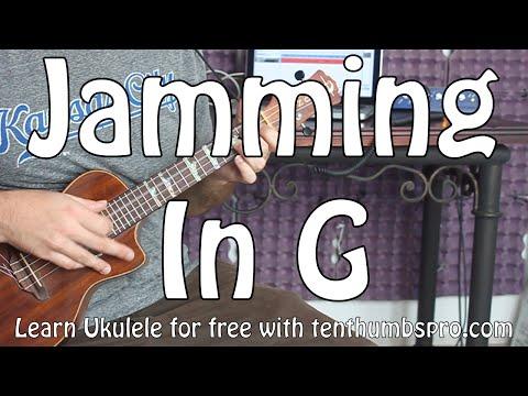 Easy G Blues Licks on Ukulele - Easy Ukulele Blues Tutorial - How to solo, jammin' in G