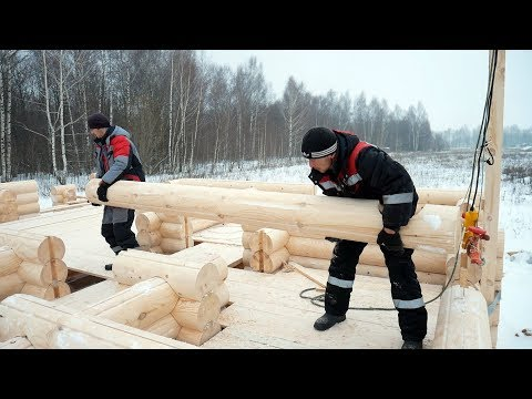 The Finnish Timber House in 7 days with your own hands. Step by step