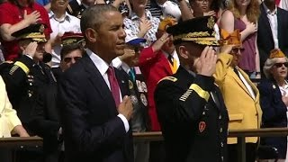 President Obama marks last Memorial Day in office by : CNN