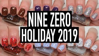 Nine Zero Lacquer - Holiday 2019 | Swatch & Review